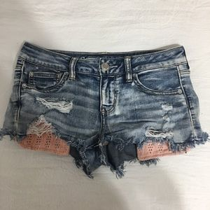 Jean shorts by American Eagle